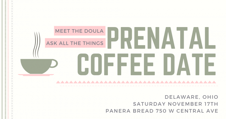 Prenatal Support Coffee Meetup