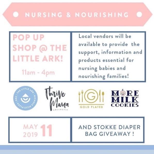 Pop Up Shop at The Little Ark Boutique OKC Event