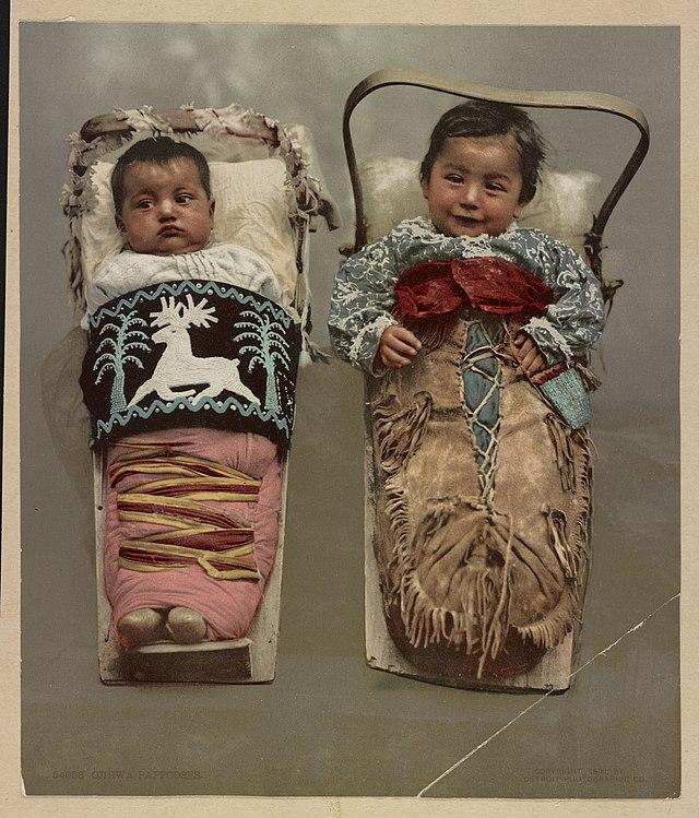 Ojibwa papooses Babywearing OKC