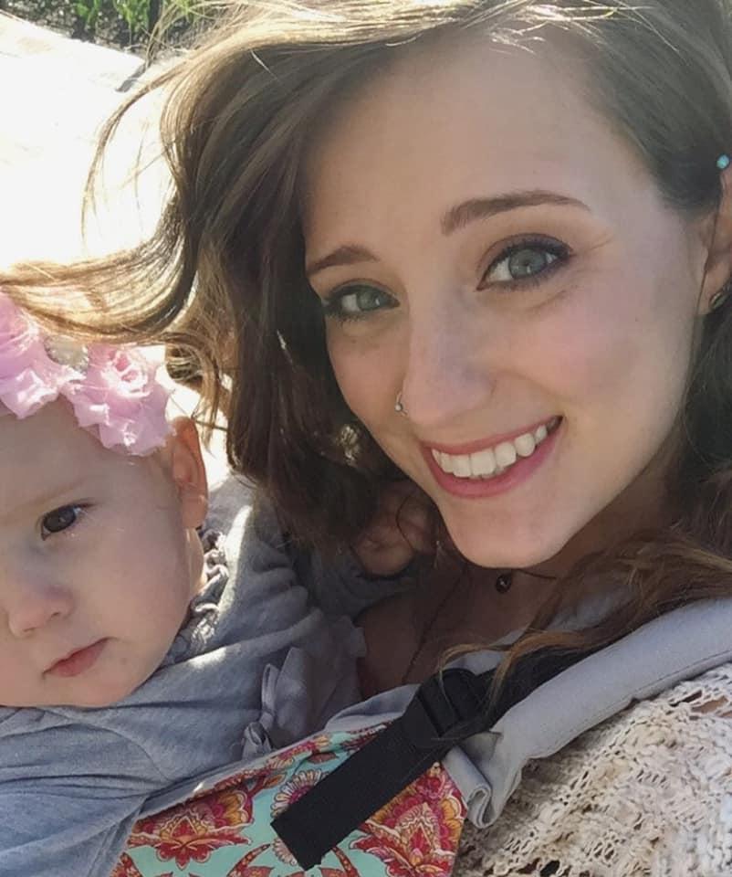 baby wearing educator OKC Doula Jenni Jenkins