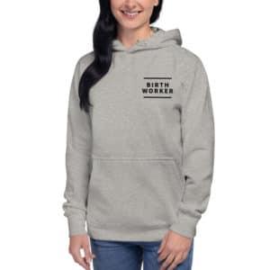 birth worker hoodie