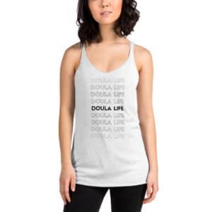 doula life tank top OKD Doula