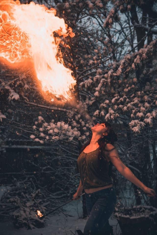 fire breathing Birth doula
