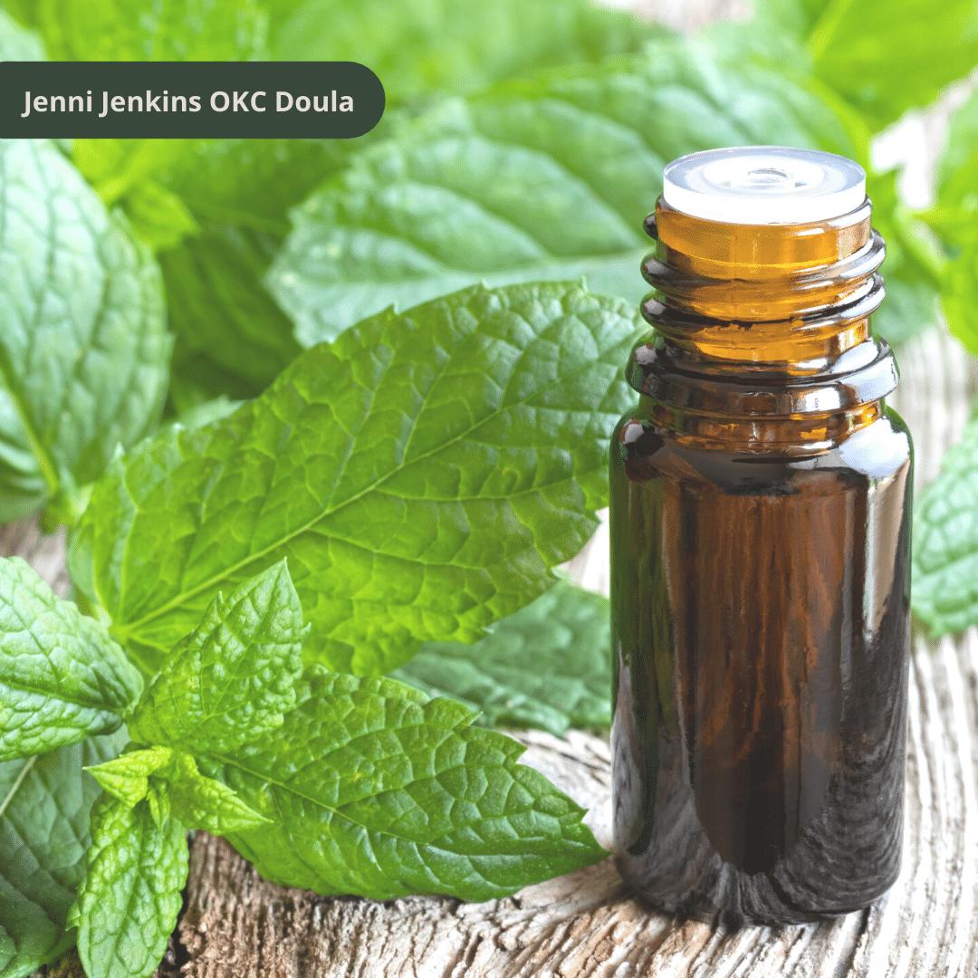 oils for birth doula okc