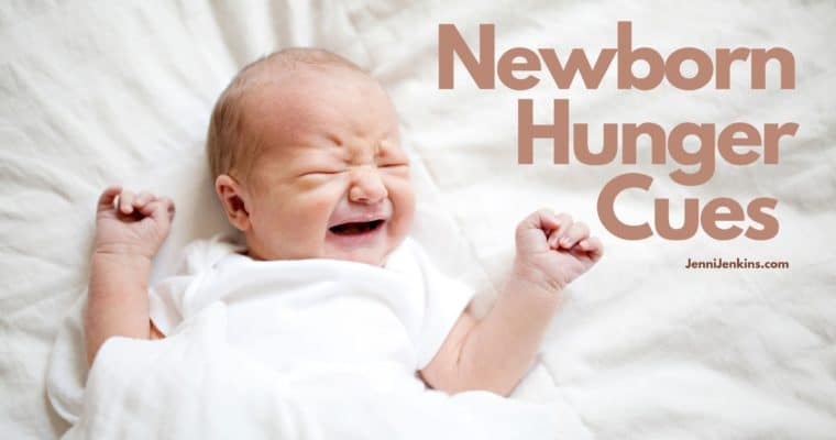 Newborn Hunger Cues, One helpful way to prevent crying